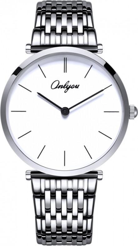 Đồng hồ Onlyou Nam 81099GA Dây thép không gỉ 38mm