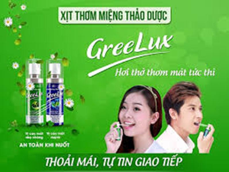 Xịt thơm miệng thảo dược GREELUX (hương Extra Cool) - Cho hơi thở thơm mát