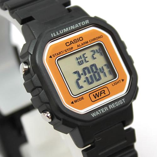 Đồng hồ Nữ Casio dây nhựa LA-20WH-9ADF (30 mm ) - Vàng