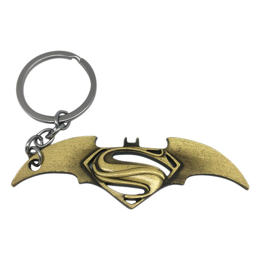 Móc Khóa Hình Batman Và Superman (màu ngẫu nhiên)