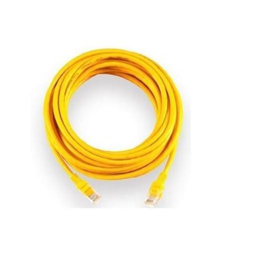 Cáp mạng UTP Cat 6E 3m 2 đầu bấm sẵn hạt mạng -vàng trơn