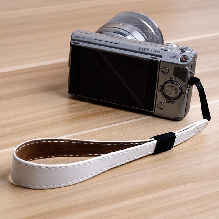 Dây da đeo tay cho máy ảnh mirrorless canon/sony/fuji