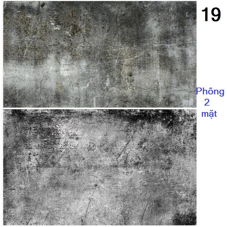 Tấm phông nền chụp ảnh 2 mặt 60x90cm mã 19