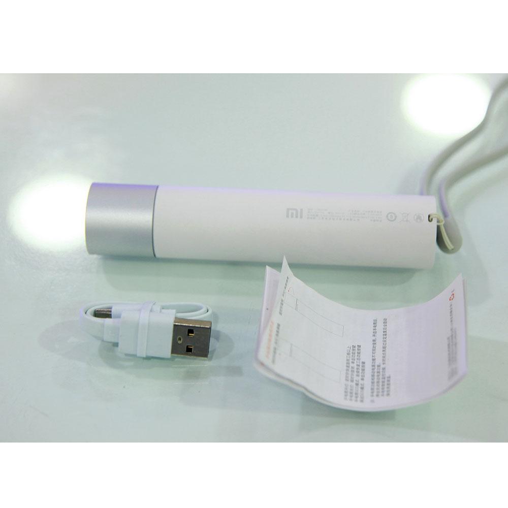 Đèn Pin Siêu Sáng Xiaomi flashlight Tích Hợp Sạc Dự Phòng - Hàng Nhập Khẩu