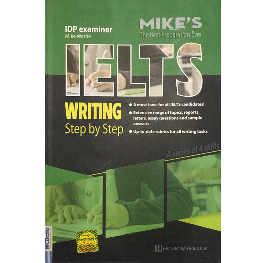 Ielts Writing Step By Step (Bộ Sách Ielts Mike)