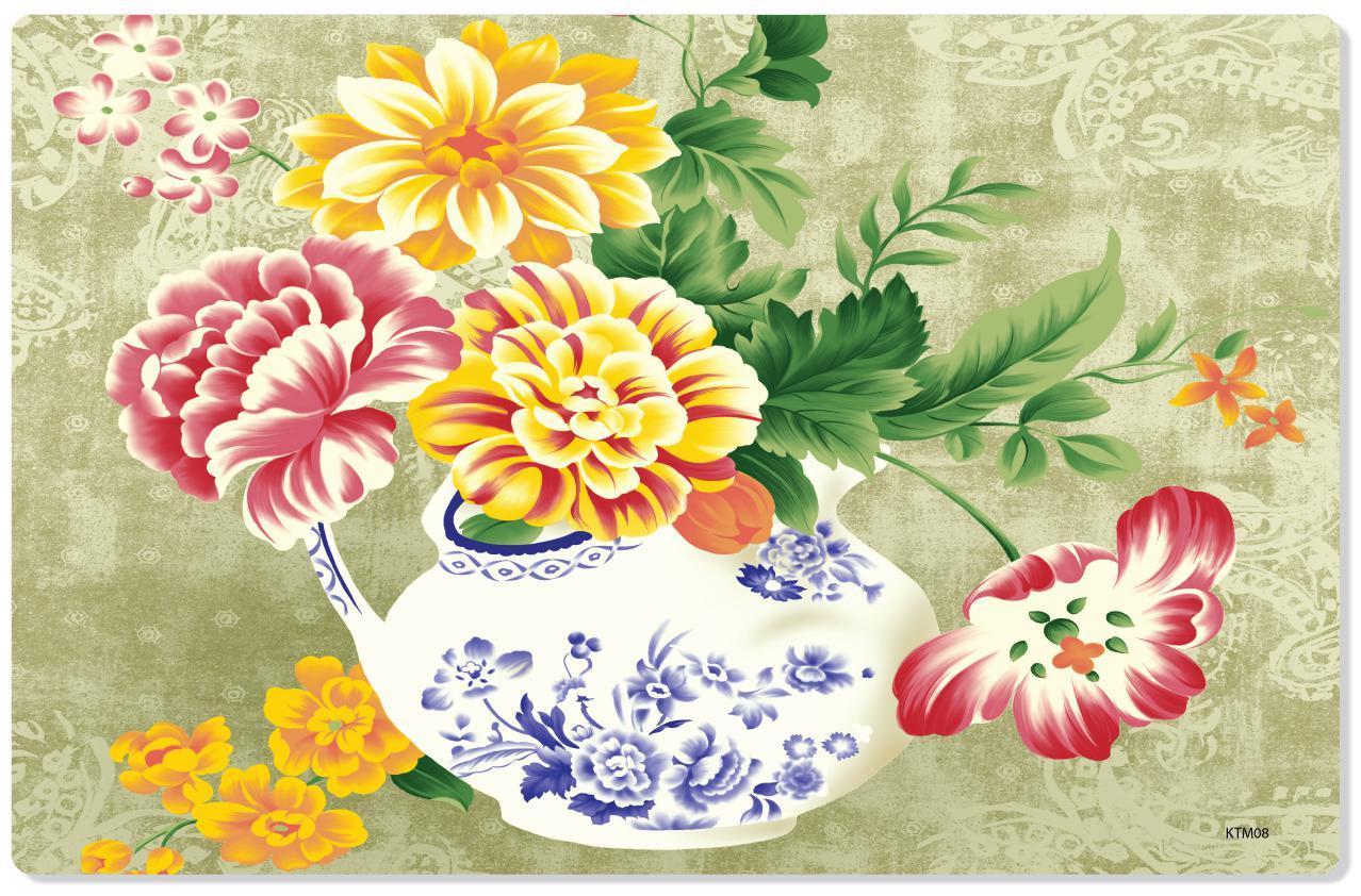 Combo 10 TẤM LÓT BÀN ĂN SWEET HOUSE (FLOWERS)