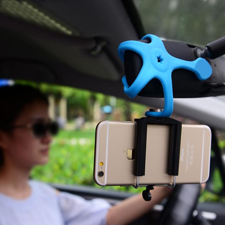 Kẹp điện thoại 5 chân dẻo – sử dụng mọi địa hình (sản phẩm giao màu ngẫu nhiên)