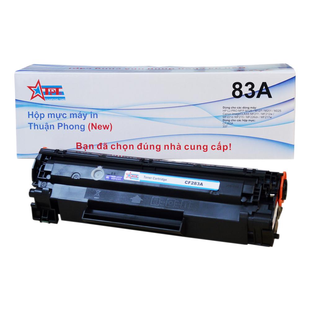 COMBO Hộp mực Thuận Phong 83A / 337 (TỰ NẠP) + 2 lọ mực đổ TP01 dùng cho máy in HP LJ M125/ M127/ M201/ M225/ Canon LBP 151dw/ MF 211/ 212w/ 221D/ 215/ 217w/ 226dn/ 229dw - Hàng Chính Hãng