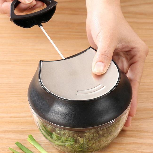 Dụng cụ xay nghiền rau củ cầm tay đa năng nhỏ, gọn tiện lợi, dễ vệ sinh sau khi sử dụng