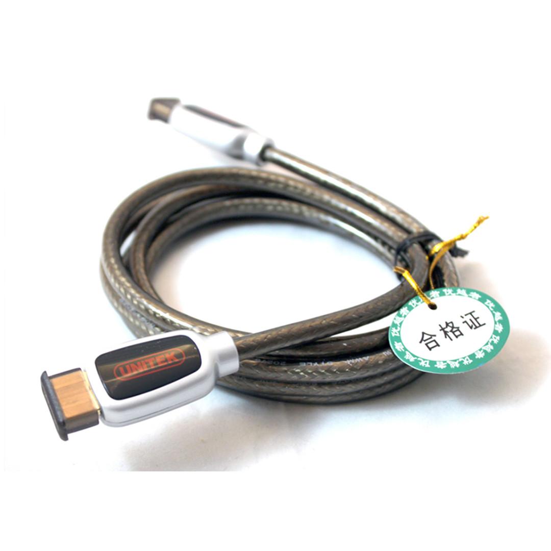 Cáp HDMI 1.4 (3m) Unitek (Y-C 114A)4K  - HÀNG CHÍNH HÃNG