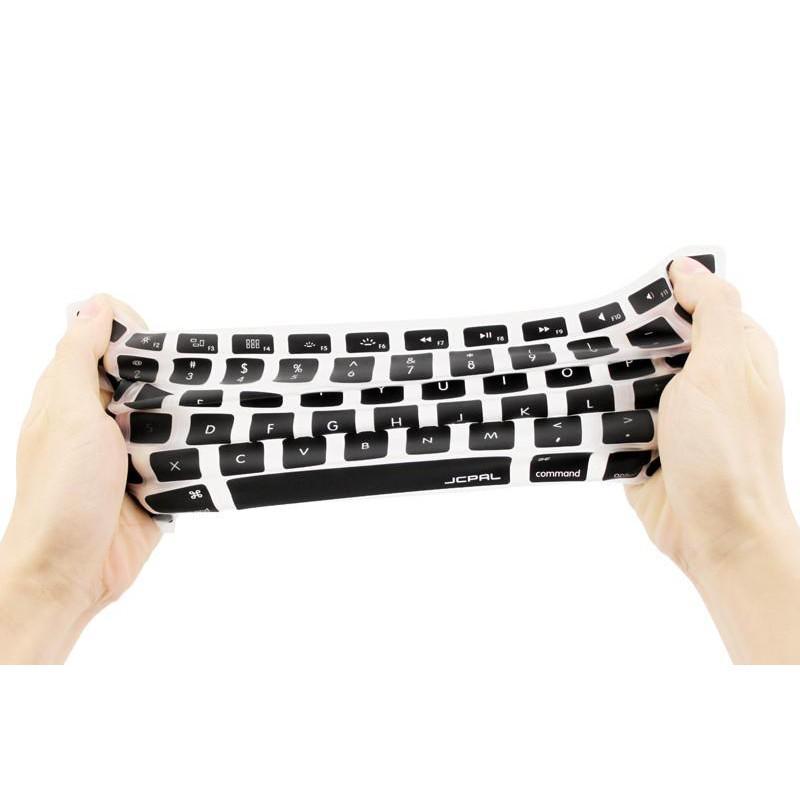 Lót bàn phím JCPAL Verskin Silicon Keyboard cho Macbook 13/15inch