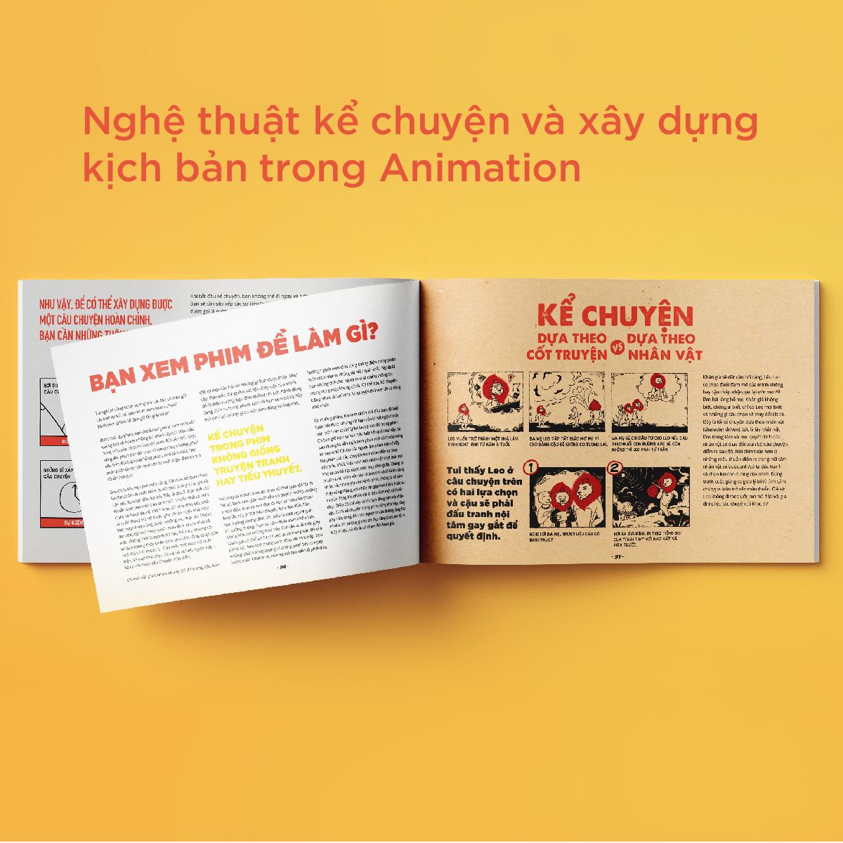 XỨ SỞ ANIMATION - Nghệ thuật kể chuyện bằng Animation