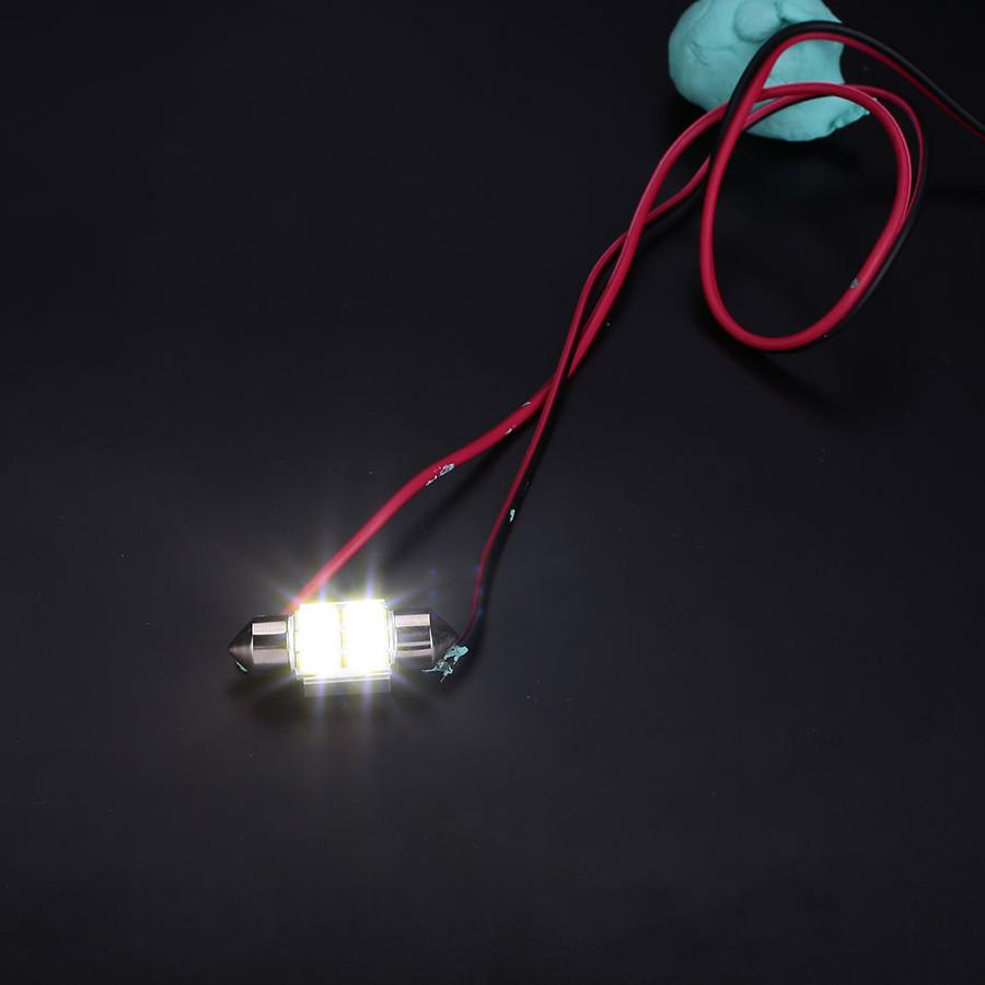 Đèn LED Gắn Trần Nội Thất Xe Ô Tô (2 Cái)