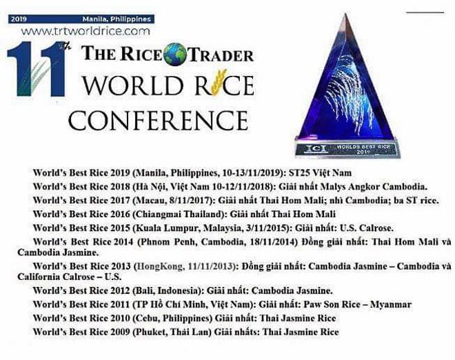 Hình ảnh Gạo Thơm ST25 Túi 5Kg - Đạt Giải Gạo Ngon Nhất Thế Giới Năm 2019 tại Manila -  Đặc Sản Sóc Trăng