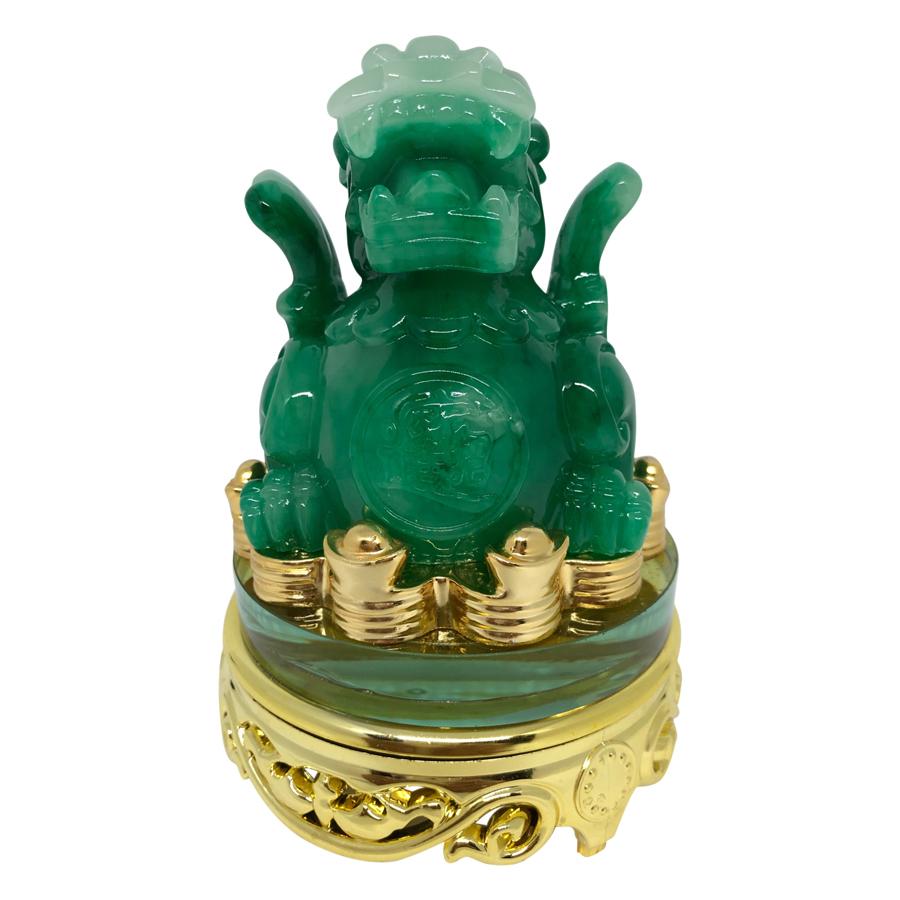Tỳ Hưu Xoay Đế Kiếng  PT0012 - Xanh