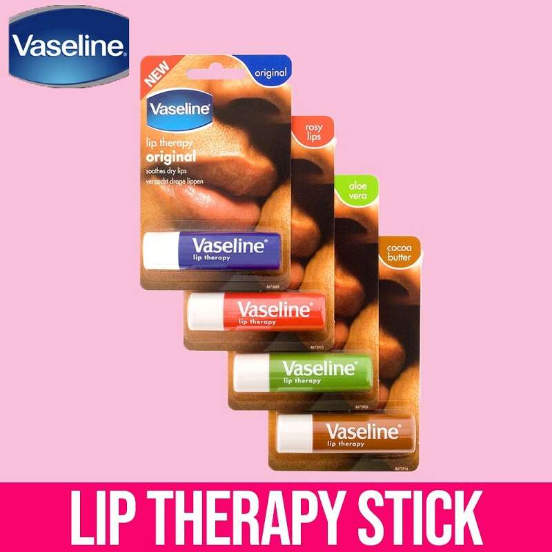 Son Dưỡng Môi Hoa Hồng Vaseline Lip Therapy 4.8g #Rosy Lips