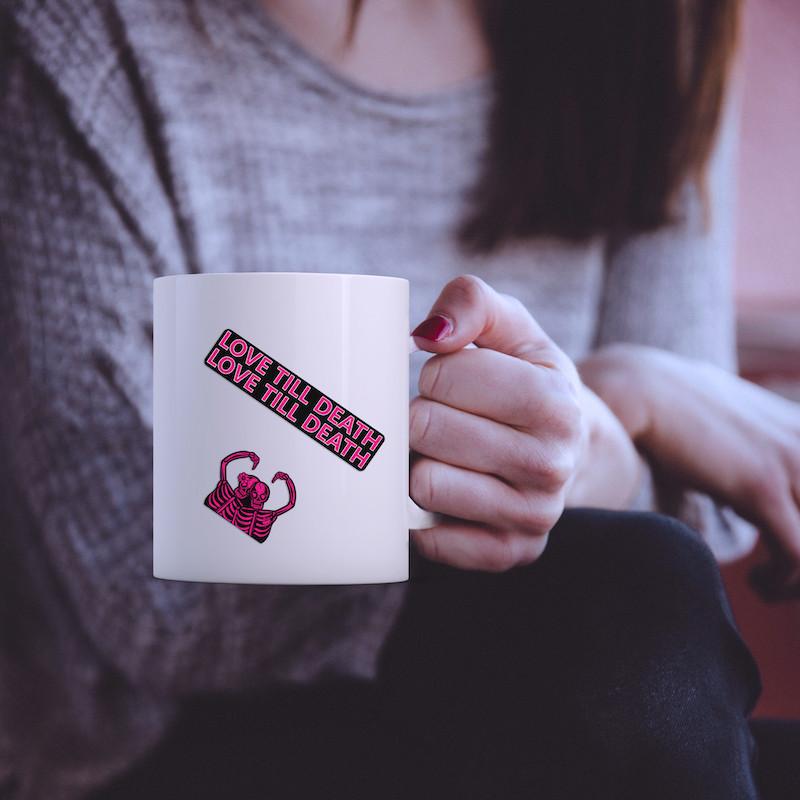 Love till death - Single Sticker hình dán lẻ