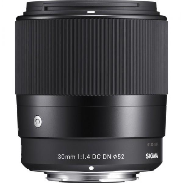 Ống Kính Sigma 30mm F1.4 DC DN For Canon EF-M - Chính Hãng