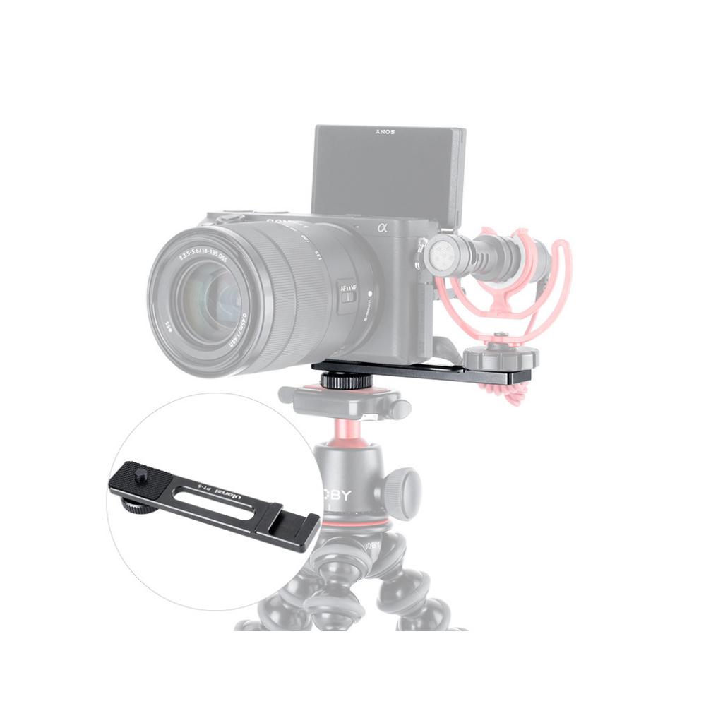 Phụ Kiện hỗ trợ quay phim cho Máy ảnh - Miếng tháo lắp chuyển đổi Ulanzi PT5 - FUED1 - Hàng chính hãng