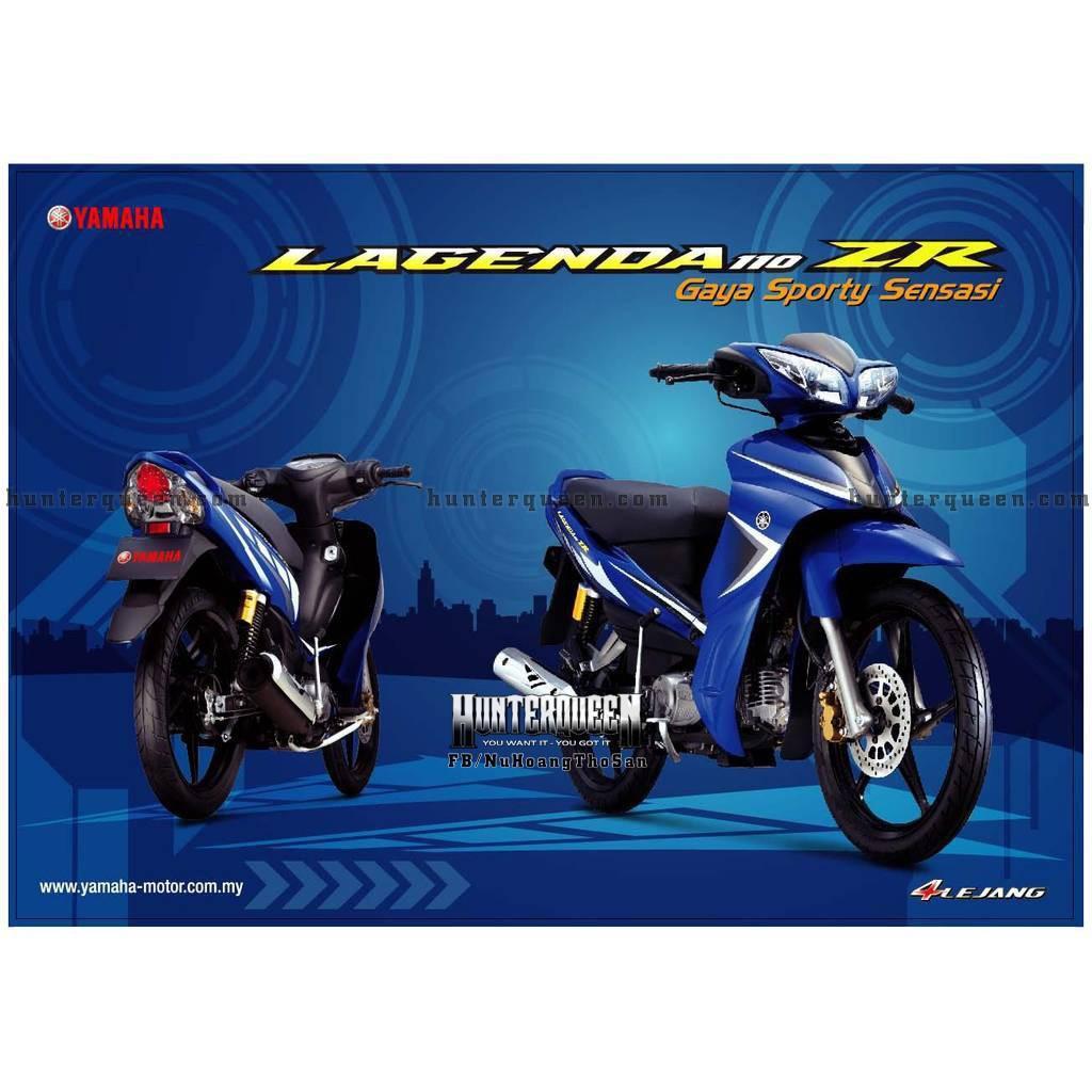 Tem uv ép nhiệt cao cấp dành cho xe máy JUPITER, LAGENDA ZR, XE XANH GP (bộ)