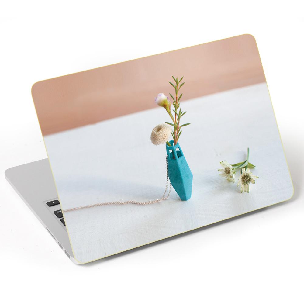 Miếng Dán Trang Trí Mặt Ngoài + Lót Tay Laptop Hoa Văn LTHV - 375
