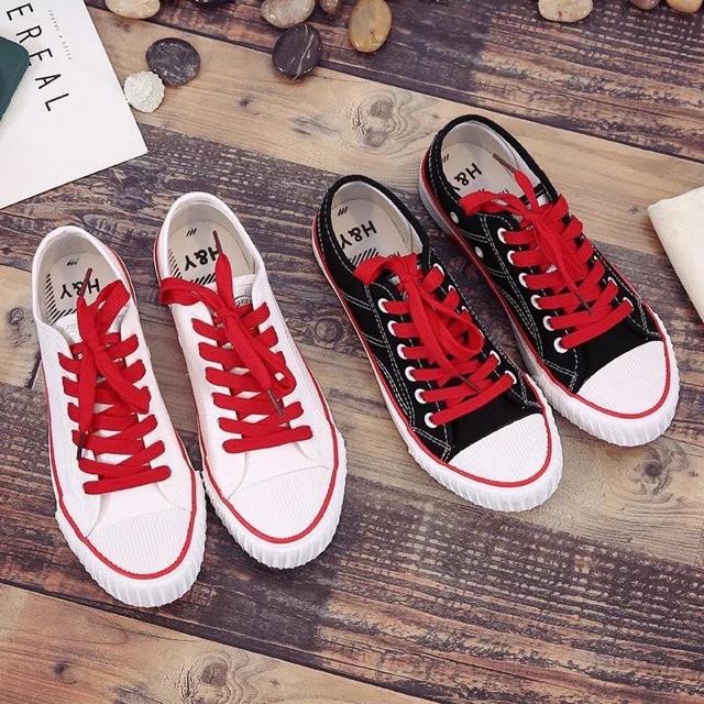 Giày thể thao dây đỏ mẫu mới