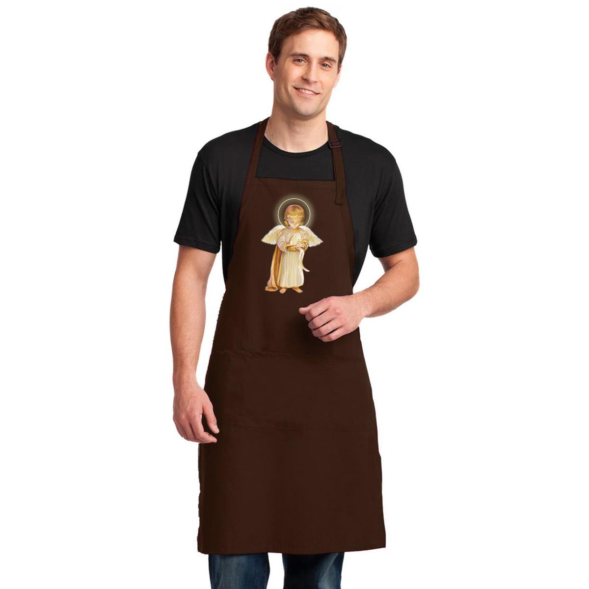 Tạp Dề Làm Bếp In Hình Thiên Thần Đáng Yêu - Mẫu010