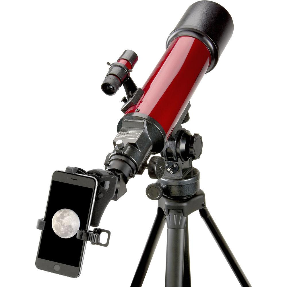 Kính viễn vọng  Carson RP-200SP zoom 25-56x80mm đi kèm với một bộ điều hợp điện thoại thông minh - Hàng chính hãng