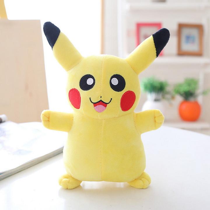 Gấu bông Pikachu cao 25cm TNB237