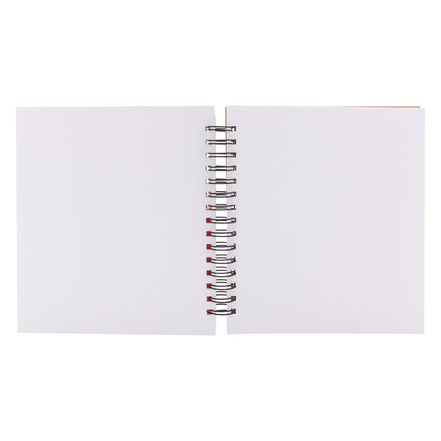 Sổ Vẽ The Basic Sketchbook (L) 90 Trang Simply Daily - Mẫu Ngẫu Nhiên (20 x 22.5 cm)