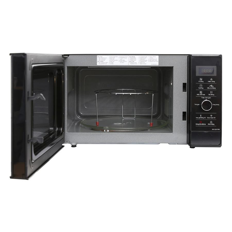 Lò vi sóng inverter có nướng Panasonic PALM-NN-GD37HBYUE (23L) - Hàng chính hãng