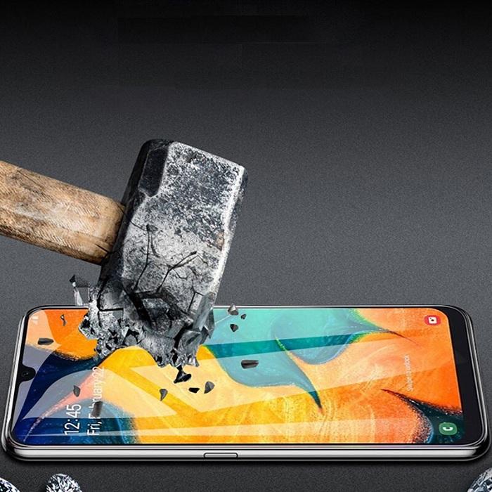 Tấm dán kính cường lực full 5D dành cho SamSung Galaxy A50 tràn màn hình