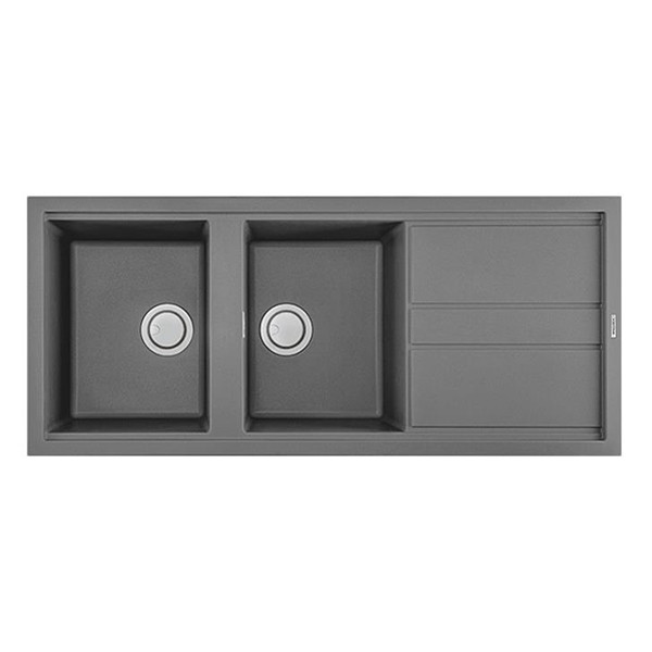 Chậu Rửa Đá Granite Nano Malloca TITANIUM K-50073 - Xám