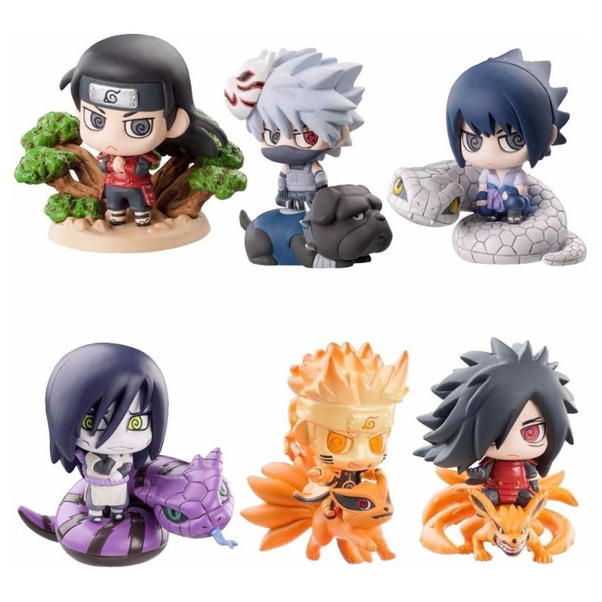 Bộ Mô Hình Naruto Chibi ( Bộ 1)