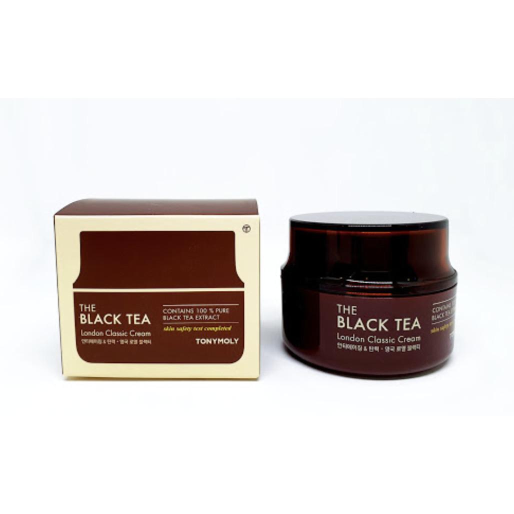 KEM DƯỠNG ẨM THE BLACK TEA LONDON CLASSIC CREAM TONYMOLY