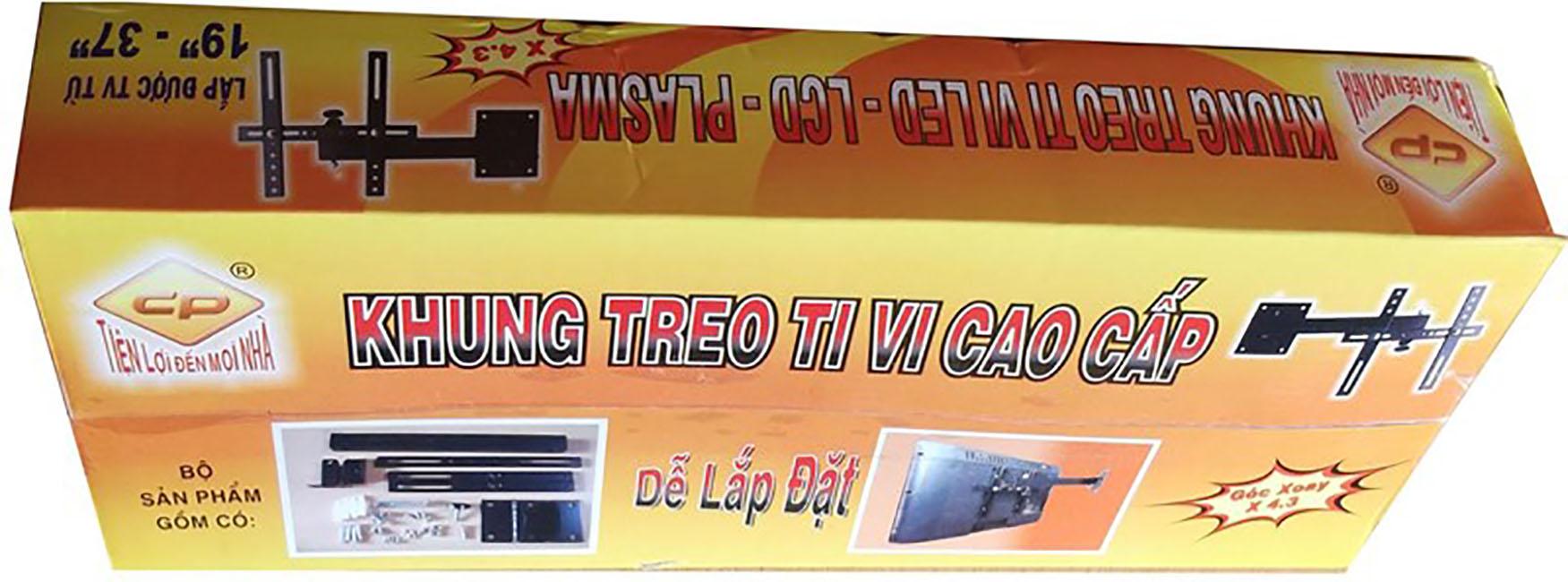 Khung treo tivi xoay 19 - 37 inch X4.3 - Hàng chính hãng