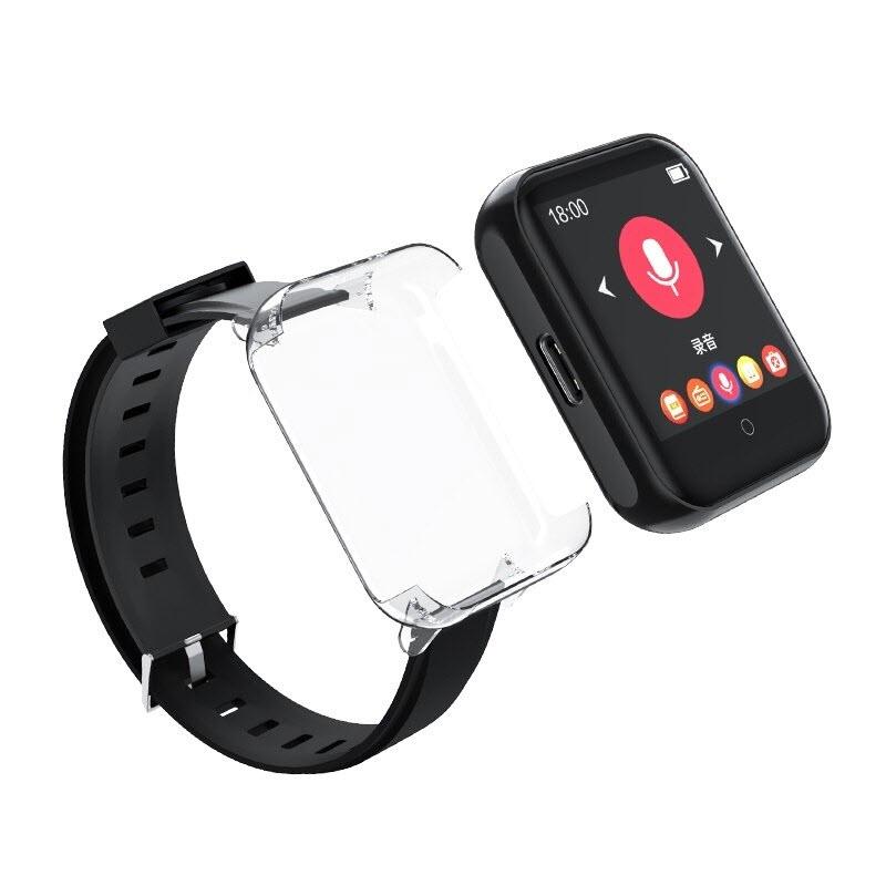 Máy Nghe Nhạc MP3 Ruizu M8 8Gb Kiểu Dáng Smart Watch - Công Nghệ Bluetooth 5.0 - Màn Hình Cảm Ứng IPS 1.54inch - Hàng Chính Hãng