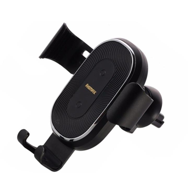Giá đỡ điện thoại tích hợp sạc không dây cho xe hơi Remax RM-C38 - Hàng nhập khẩu