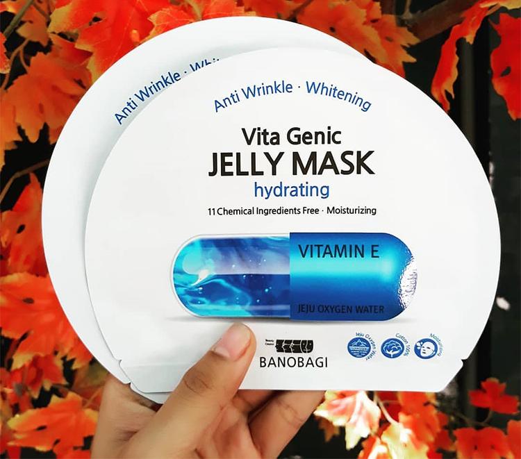 Mặt Nạ Banobagi Vita Genic Jelly Mask Hydrating MM41 (1 Hộp/10 Miếng)