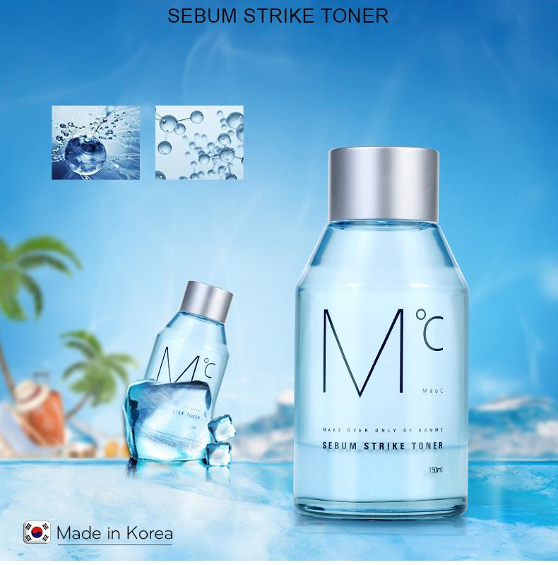 Nước hoa hồng kiềm dầu dành cho nam MdoC Sebum Strike 30ml JN-MTN03