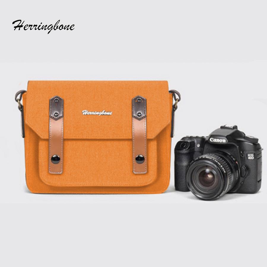 Túi máy ảnh Herringbone Papaspocket 3 Mini - Sand color - Hàng chính hãng