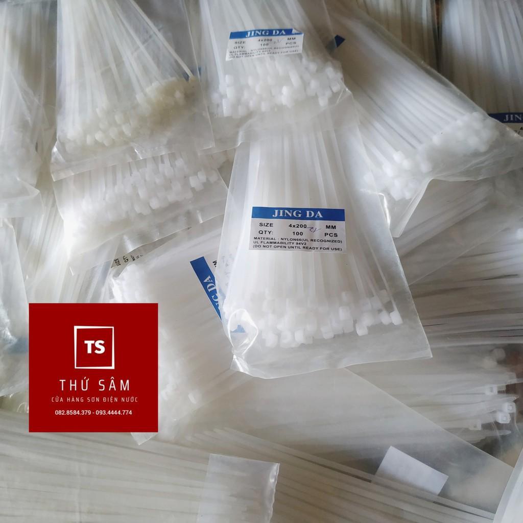 Dây Thít nhựa ( dây rút ) 4x150mm 1 bì 100 sợi