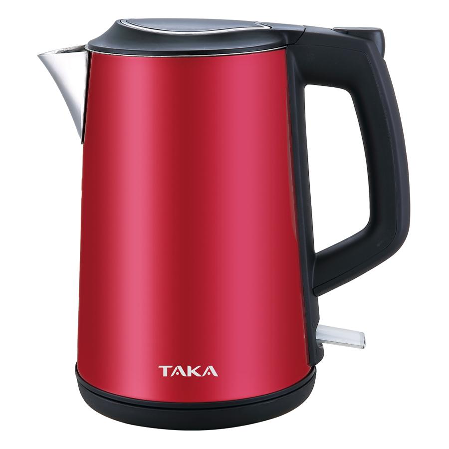 Ấm Đun Siêu Tốc 2 lớp Inox 304 Taka TKEK315 (1.5L) - Hàng chính hãng