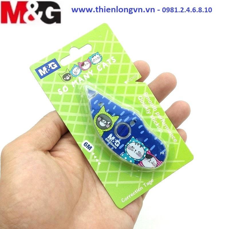 Xóa băng - Xóa kéo 6m M&G - ACT11875 thân xanh