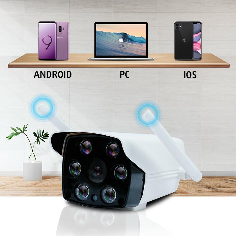 Camera Wifi Việt Star Quốc Tế Cố Định 23DK200 2.0MPx Full HD 1080P, Chống Nước, Ban Đêm Có Màu Dùng APP CARECAM PRO - Hàng Chính Hãng