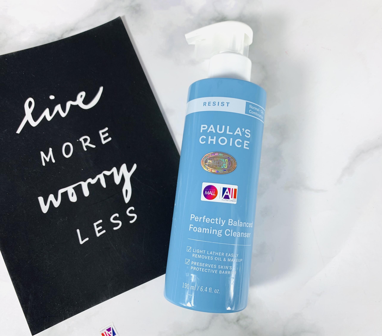 Sữa rửa mặt cân bằng da Paula's Choice Resist Perfectly Balanced Foaming Cleanser 190ml (Nhập khẩu)