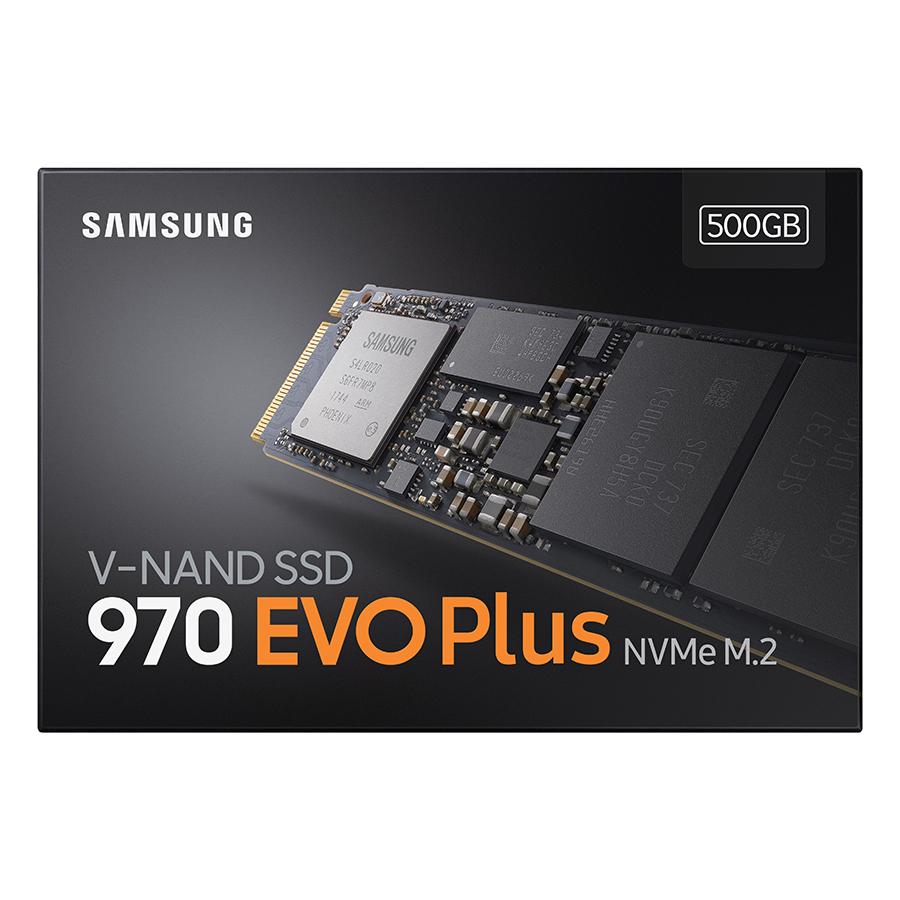 Ổ Cứ́ng SSD Samsung 970 EVO PLUS 500GB M2 2280 PCIe NVMe MZ- V7S500BW - Hàng nhập khẩu