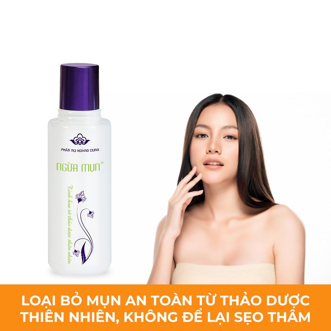 Nước Phấn Ngừa Mụn, Ngừa Thâm, Dưỡng Da, Thông Thoáng lỗ chân lông hiệu quả (120ml) - Hàng Chính Hãng.