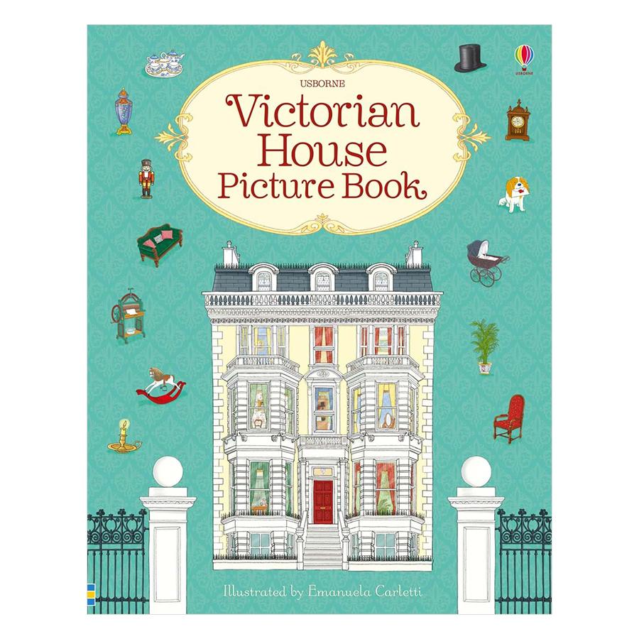 Usborne Victorian House Picture Book
