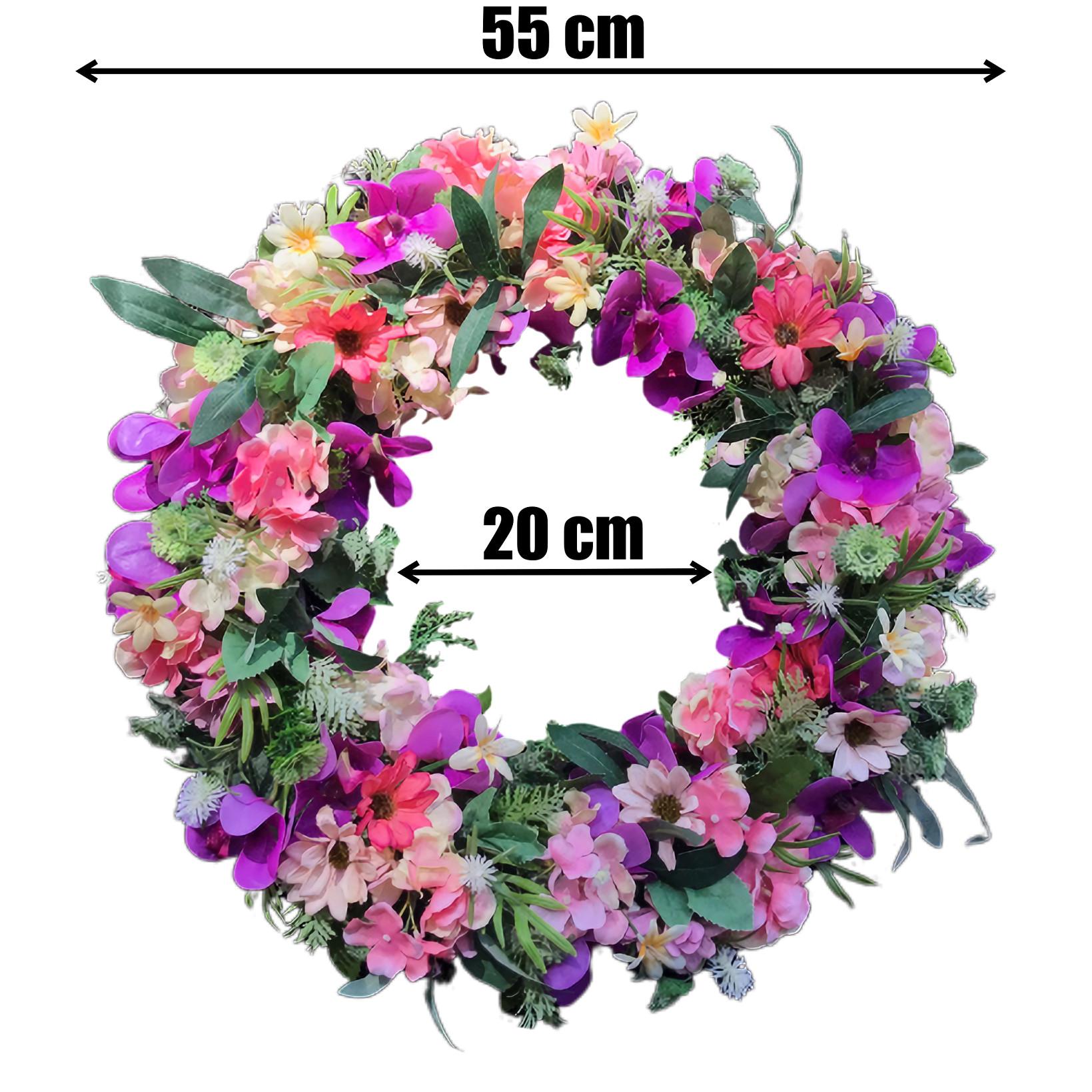 Vòng Hoa Vải Handmade V16024